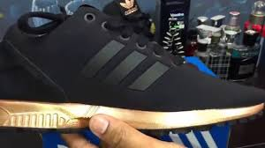 adidas zx flux black and gold womens. adidas zx flux black and gold womens d