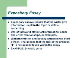 Define Expository Essay Essay Types English 11 12 Expository Essay Expository