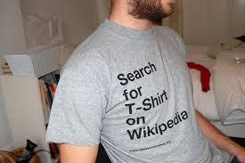 Wikipedia T Shirt