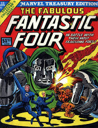 cap'n's comics covers of marvel treasury  the fantastic four