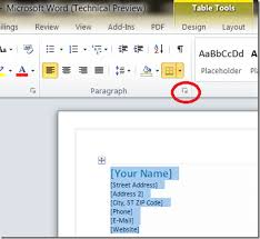 micresoft word how to right align address in word document word entropy