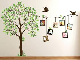 shocking life size tree wall decals articles with of metal art pics family decor styles and