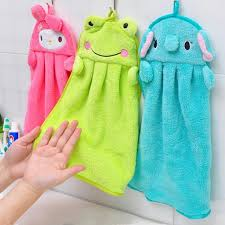 1 pieces Kitchen Supplies New Character Hanging Towel Cute Animals