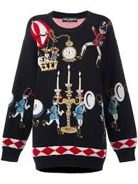 dolce gabbana wonderland jumper women clothing dolce and gabbana the one