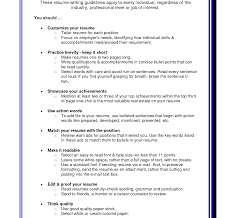 Resume Formatting Tips Resume Formattingps Objective Examples Cover Letter Best Advice 5