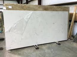 carrera quartz countertops kitchen that look like carrara marble white