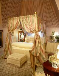 we all deserve to dream surrounded by canopy bed curtains