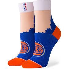 <b>Women's</b> Stance <b>New</b> York Knicks Monofilament <b>Anklet</b> Socks