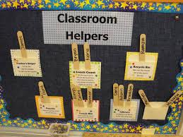 Kindergarten Classroom Theme Decorations Helper Bulletin Board Ideas Bulletin Board For Classroom