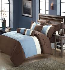 33 nice inspiration ideas duvet covers brown and blue serenity king 10 piece comforter bed in a bag set com