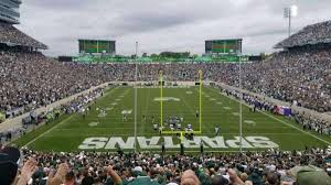 Spartan Stadium Section 16 Home Of Michigan State Spartans
