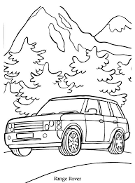 Print Range Rover Kleurplaat Coloring Collection Coloring For