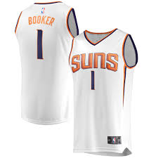Find the latest in devin booker merchandise and memorabilia, or check out the rest of our phoenix suns gear for the whole family. Devin Booker Phoenix Suns Fanatics Branded Fast Break Jersey Association Edition White Walmart Com Walmart Com