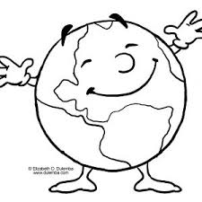 Small Picture Coloring Pages Best Photos Of Earth Pictures To Print Printable