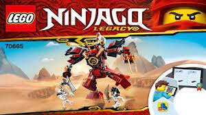 LEGO instructions - Ninjago - 70665 - The Samurai Mech - YouTube