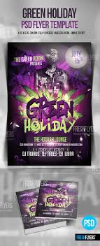 holiday trio christmas party flyer template christmas party green holiday party flyer template