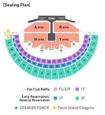 Bts Seating Chart La