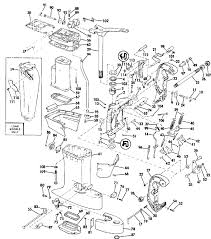 evinrude midsection parts for 1984 60hp e60elcre outboard motor reference numbers in this diagram can be found in a light blue row below scroll down to order each product listed is an oem or aftermarket equivalent