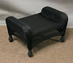 wicker chair and ottoman elegant outdoor wicker chairs and ottomans about remodel creative home remodeling ideas