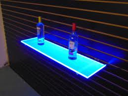 floating neon shelves led light up shelves and shelvi on retail ideas images on