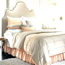 grey and beige bedding
