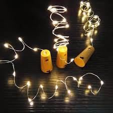 bottle lighting. Wine Cork Bottle Light LED String (2pcs) Lighting