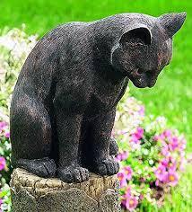 cat garden statue. Design Of Cat Garden Decor Outdoor Yard Amp Mouse Sculpture Statue Resin A