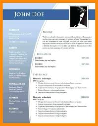 Ms Office Cv Templates Resume Template Office Ms Word Templates 2010 Microsoft Cv