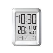 digital touch screen desk wall clock