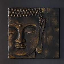 buddha painting gold wall art
