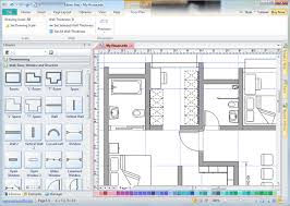 Use Wall Shapes In Floor PlanSoftware For Drawing Floor Plans