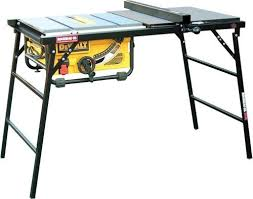 table saw stand. rousseau portamax 2745 table saw stand