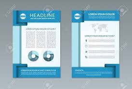 Handbills Design Templates Free Flyer Brochure Design Template A4 Size Front And Back Page