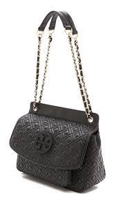 Tory Burch Marion Quilted Shoulder Bag   SHOPBOP &  Adamdwight.com