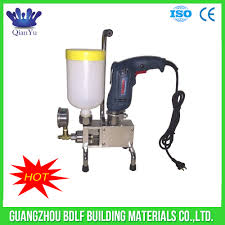 concrete polyurethane filling machine injection grouting pump for ...