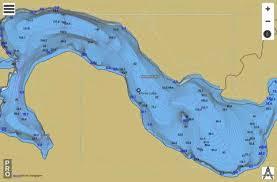 Horne Lake Fishing Map Ca_bc_horne_lake_bc Nautical