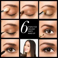 start with a good primer and a loose neutral toned base you can use face powder for this 2 apply a tan toned eye shadow to the crease of your eye