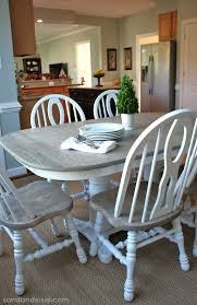 How to refinish a dining room table Chairs Two Toned Table How To Refinish Table Sand And Sisal How To Refinish Table Sand And Sisal