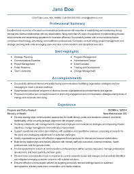 Health Policy Analyst Resume