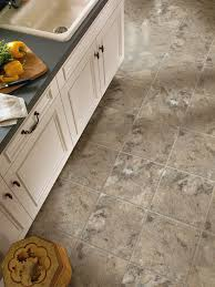 Vinyl Tile Kitchen Flooring Mesa Stone Ii Cream Pearl A5125 Vinyl Tile