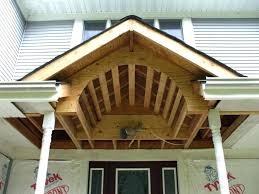 porch of plans frame addition fnt gable hip roof front styles