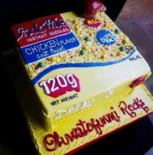 Check Out This Beautiful Indomie Cake See Photo 9jaflaver