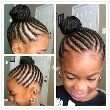 Belle Coiffure Afro Nattes Coll Es