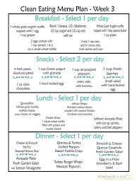 Daily Menu Chart Healthy Menu For Breakfast Lunch And Dinner Healthy Balanced