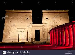 Sound And Light Show Philae Temple Sound And Light Show On Isis Temple And Eastern Colonnade
