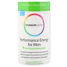 Rainbow Light Men S One Multivitamin Uk Rainbow Light Performance Energy For Men Food Based