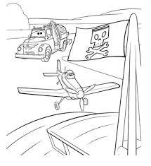 Planes Kleurplaten