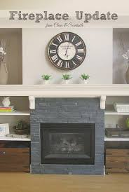 great ideas to update your fireplace cleanandscentsible com