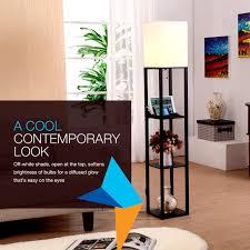 Mood Lighting Living Room Brightech Store Brightech Maxwell Usb Shelf Floor Lamp Mood