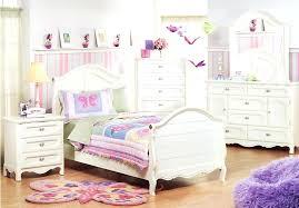 Childrens White Metal Frame Single Wooden Little Girl Bedroomture ...